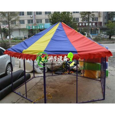 幼儿园蹦蹦床篷顶 儿童跳跳床蓬布 彩色布篷 防雨防晒蓬帆布顶棚[定制] 20平方米