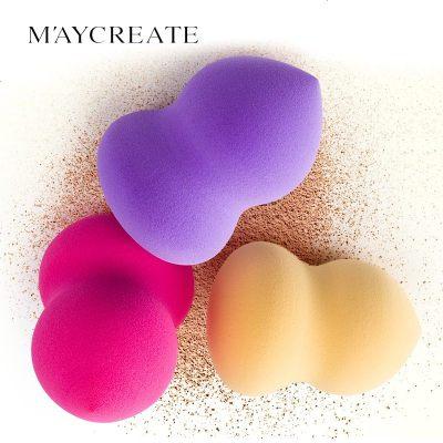健美创研正品高密度干湿品牌葫芦粉扑 天然环保海绵厂家直销彩妆