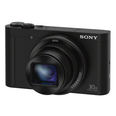 索尼(SONY)DSC-WX500/BC 数码相机/照相机 CMOS 锂电池 3英寸屏 黑色-16G原装卡1820万像素