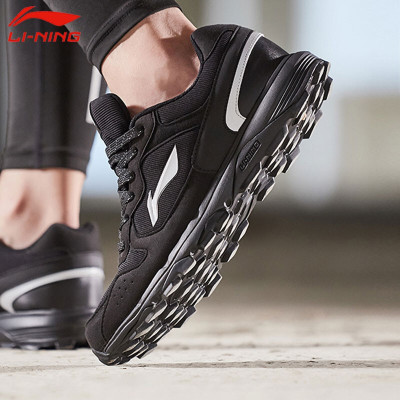 李宁跑步鞋男鞋新款耐磨防滑越野户外旅游鞋运动鞋男