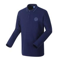 国际米兰俱乐部Inter Milan19年新品秋季棉质长袖男士POLO衫官方运动休闲翻领T恤