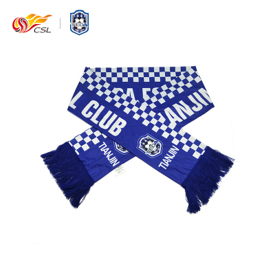 中超CSL聯賽官方正品 天津泰達印花圍巾---上PP體育看中超購正版 邊看邊買暢享一夏