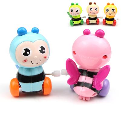 發條上鏈玩具上弦小動物鐵皮青蛙 兒童寶寶0-1-3歲嬰兒幼兒爬行