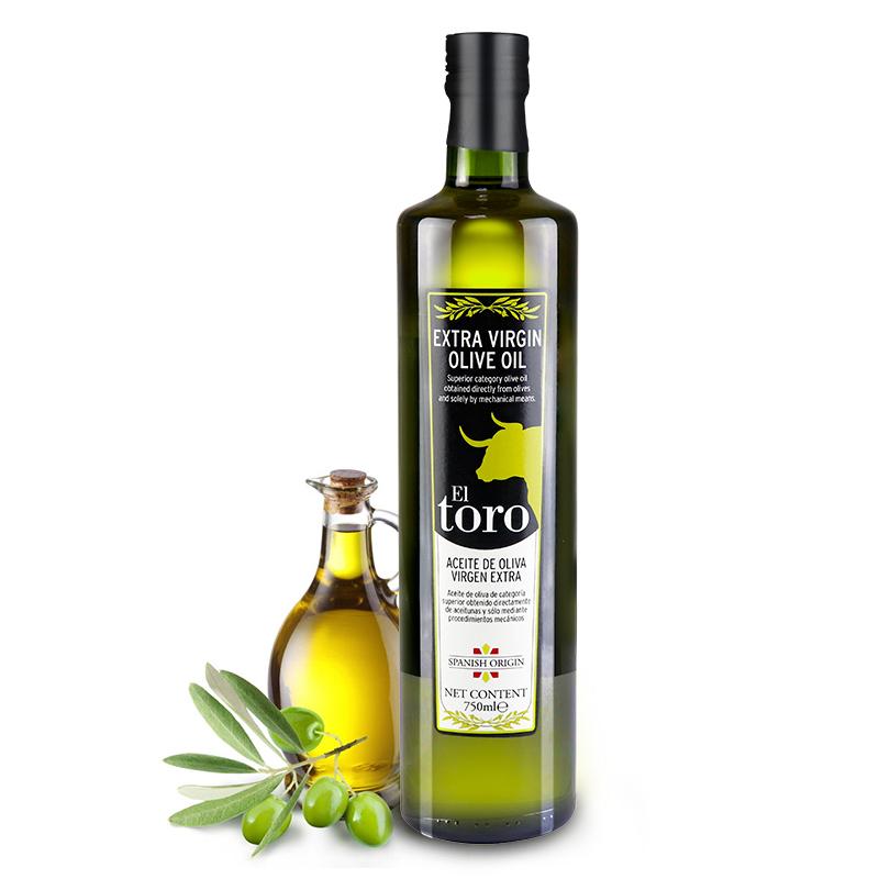 滔利ELTORO特级初榨橄榄油食用油西班牙原瓶进口750mL+500mL