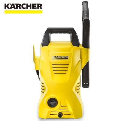 KARCHER卡赫家用高压便携清洗机K 2 Compact WSK标配版 大功率220V洗车机 德国凯驰集团