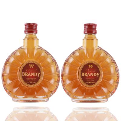 威尔马特白兰地葡萄XO烈酒 洋酒风味125ml*2瓶Mountfei250ml