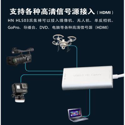 采集棒禾苗N8 采集棒HDMI 1080P高清采集視頻直播導播編碼棒OBS電腦推流