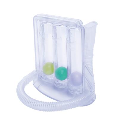 医院医用 呼吸训练器 肺活量锻炼 三球仪 肺功能恢复训练器