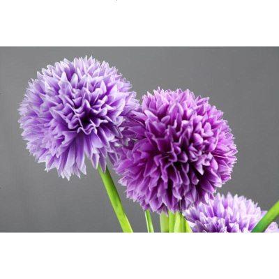 繡球蔥球仿真花假花 時尚家居客廳落地臺面裝飾臥室擺放絹花插花