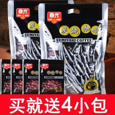 海南特产春光炭烧咖啡817g*2包共86小包 三合一速溶咖啡
