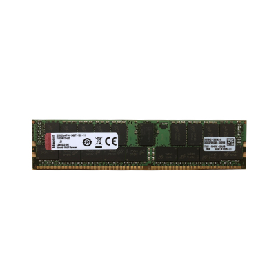 金士顿(KINGSTON)DDR4 2400 32G ECC Reg CL17 DIMM 2R*4服务器内存