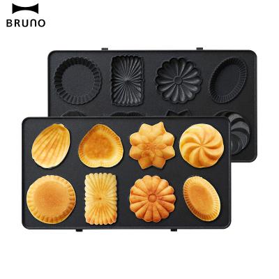 日本bruno 蛋糕烤盤plusBOE044-GATEAU 輕食機配件蛋糕盤烤盤