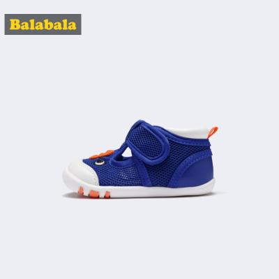 巴拉巴拉寶寶鞋子1-3歲嬰兒鞋子女軟底防滑男童學步鞋新款夏