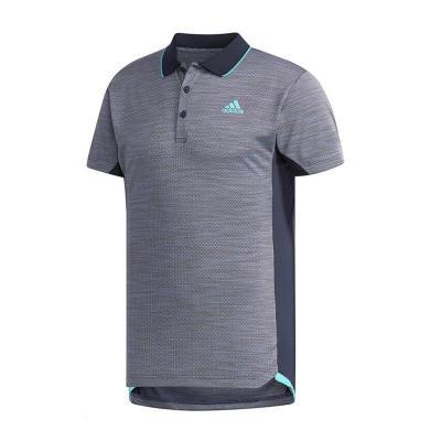 阿迪達斯(adidas)男士POLO衫跑步訓練翻領運動短袖T恤CZ0553