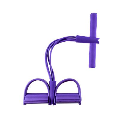賽妙(SAIMIAO)2020腳蹬拉力器仰臥起坐四用多功能綜合練習拉力繩男女瘦腰減肥健身器材 19升級防斷裂塑膠