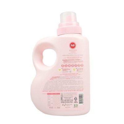 保宁(B&B)宝宝柔顺剂 婴儿衣物纤维柔顺剂(柔和香-瓶装)有香味洗衣液1500ml