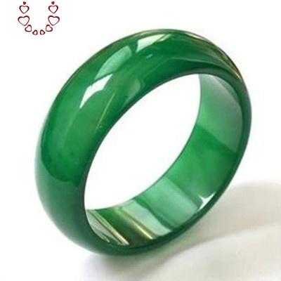 天然瑪瑙戒指情侶款男女個性扳指尾戒賭神玉髓綠玉石指環 Chunmi