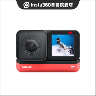 Insta360 ONE R 4K廣角鏡頭版 防抖運動攝像機運動相機全景相機 旅行Vlog游泳機車摩托車騎行潛水跳傘