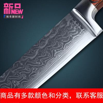 8寸厨师刀日本VG-10大马士革西餐料理刀切片切肉刀