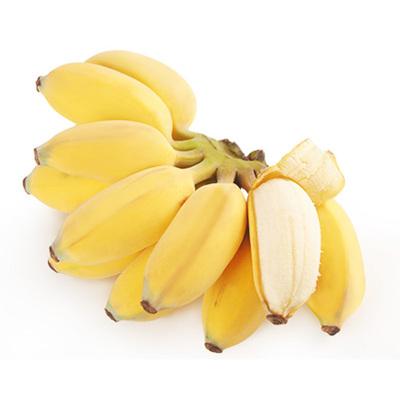 廣西香蕉 小米蕉2.5斤 (偶數發貨 拍4件減9元合并發9斤)