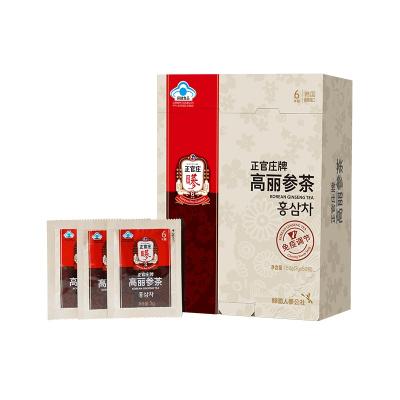 正官庄(高丽参茶3g*50包/盒(150g) 韩国进口 人参冲泡颗粒 休闲滋补