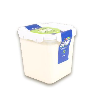 【航空直发】terun天润酸奶润康益家网红2斤桶装原味老酸奶1kg桶