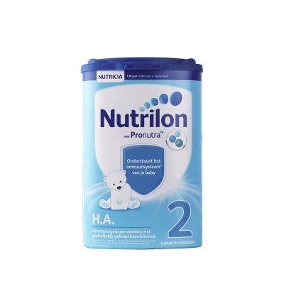 荷兰直邮3罐原装进口Nutrilon牛栏诺优能HA 2段轻度部分半水解特殊配方奶粉过敏腹泻750g适用年龄6个月以上