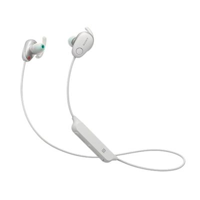 索尼(SONY)WI-SP600N 无线降噪防水运动耳机 白色