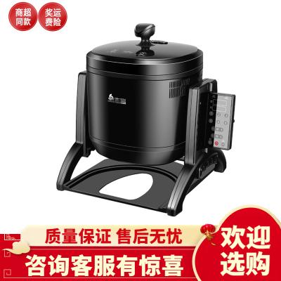 志高炒菜機商用智能全自動炒菜機商用大型機器人炒飯機滾筒炒菜鍋3400w