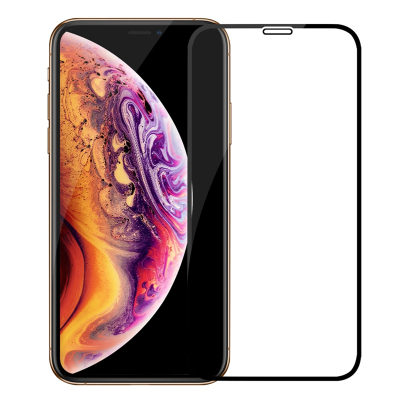 令狐少俠蘋果xr鋼化膜iphoneXR全屏黑色apple11鋼化玻璃膜 Xr手機貼膜 蘋果11高清膜 全屏防護
