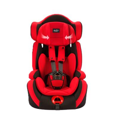 快樂王子(HAPPY PRINCE)兒童安全座椅汽車可折疊式嬰兒寶寶車載9個月12歲通用款
