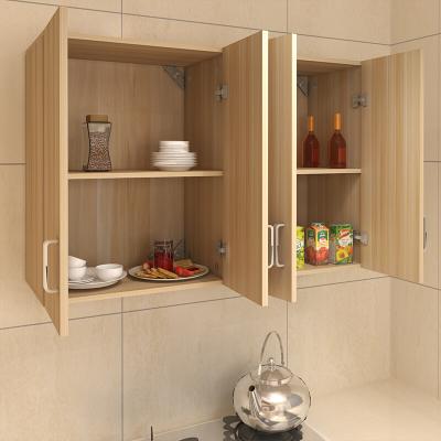 家用新款廚房吊柜櫥柜陽臺柜浴室柜廚房柜儲物柜壁柜墻柜掛柜長140深40高60四組裝壹德壹