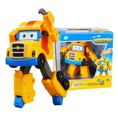 奧迪雙鉆(AULDEY)超級飛俠 變形機器人-卡爾叔叔 720225