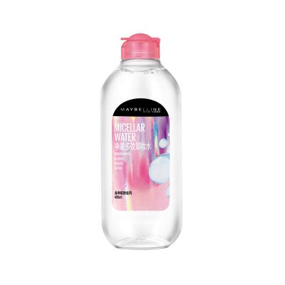 美宝莲(Maybelline)净澈多效卸妆水 400ml 深层清洁 面部肌肤 各种肤质适用 卸妆液
