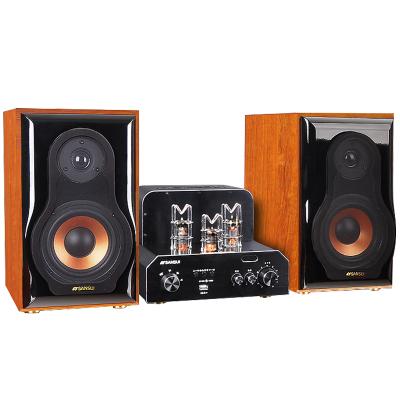 山水(SANSUI) S900电子管胆机蓝牙组合音响hifi套装电子管功放机音箱家用电视音响