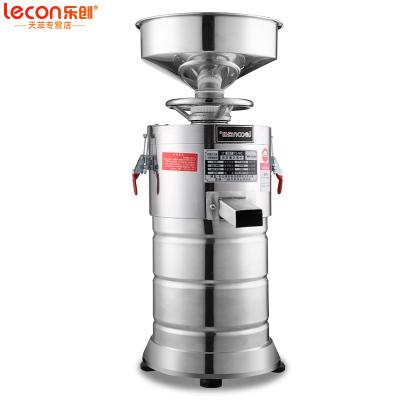 樂創(lecon) 商用豆漿機 全自動漿渣分離磨漿機 現磨豆漿機 大型免過濾干濕兩用米漿腸粉機豆腐腦機 100型 普通款
