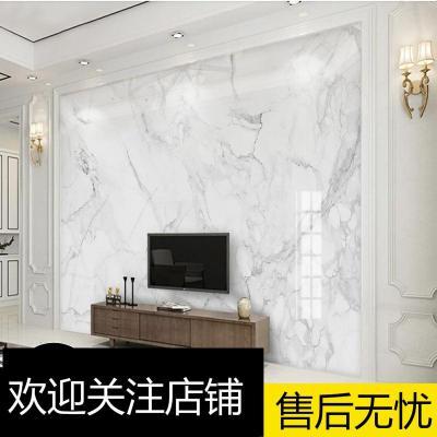 電視背景墻壁紙裝飾客廳閃電客現代簡約3D影視墻大理石墻布壁畫壁布大氣