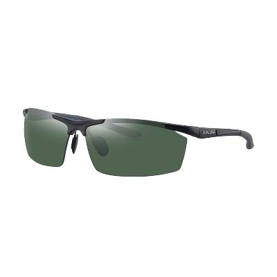 BOLON暴龙偏光太阳镜男士半框方形潮流墨镜开车个性眼镜BL2282