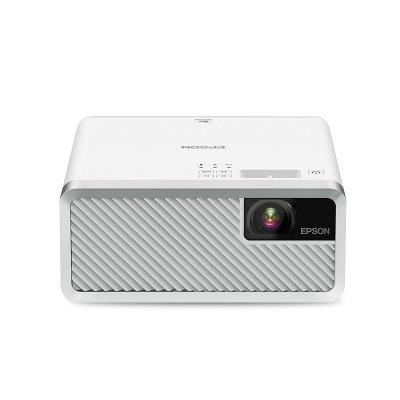 愛普生(EPSON)EF-100W 激光3LCD智能家用投影機投影儀(2000流明 內置系統 支持側投)