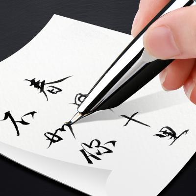 英雄(HERO)鋼筆正品民族品牌7006鋼筆美工筆寶珠筆學生練字筆成人練字簽字辦公書法男女免費刻字精