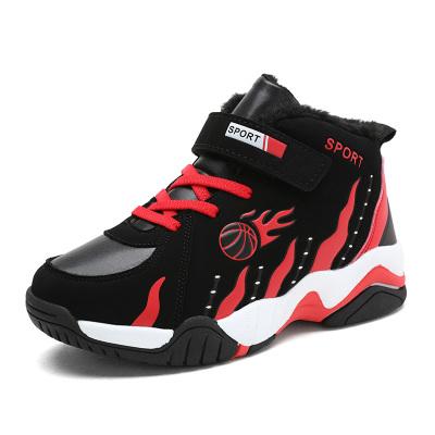 小米图奇男童鞋2019秋冬季新款加绒保暖儿童运动鞋中大童鞋子学生跑步鞋韩版童鞋