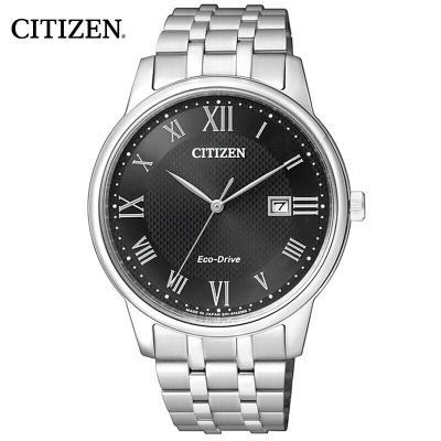西铁城(CITIZEN)手表 时尚光动能商务休闲防水时尚男表 BM6970-52E
