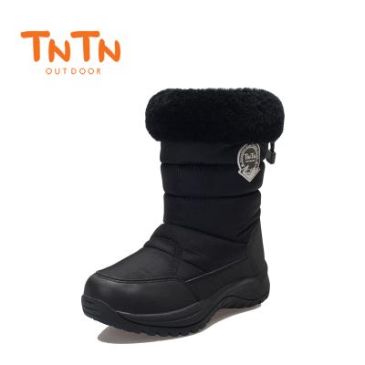 NTN韓版戶外冬季羊毛加絨保暖東北防水厚女士休閑棉鞋滑雪地靴子
