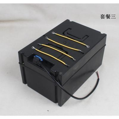 电动车三轮车电池盒电瓶盒60V20A通用型摔不烂外壳厂家直销