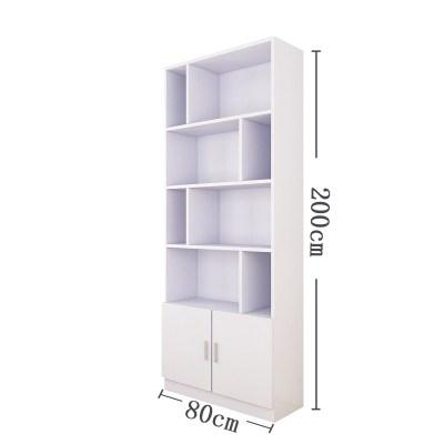 60*30*200高書柜書架展示柜閃電客120陳列柜貨柜自由組合2.2/2.4米  80白色30深