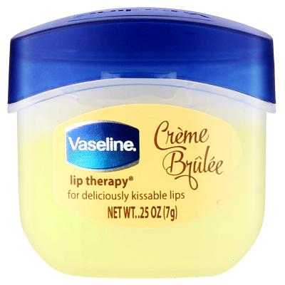 凡士林(VASELINE)經典修護保濕潤唇膏焦糖布丁味7g【聯合利華】保濕補水