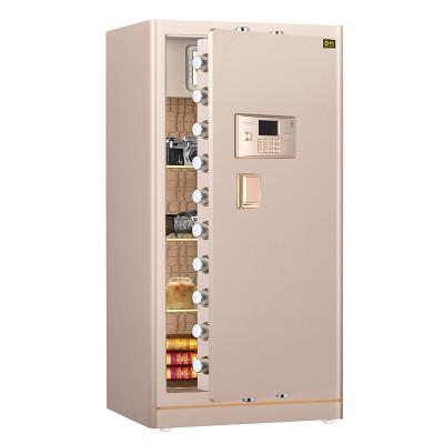 黑石保險柜高全鋼結構電子密碼保險箱辦公家用小型入墻入柜保管箱 玫瑰金