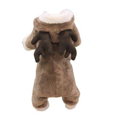 铭心狗狗衣服四脚装变身装泰迪比熊博美犬小狗幼犬秋冬季保暖宠物服饰