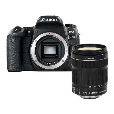 【二手95新】佳能/Canon EOS 77D +18-135mm STM【套機】