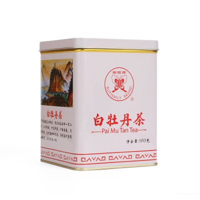 中茶 福建白茶 5101 高山大白茶 罐装白牡丹100g